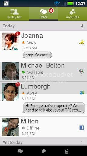 abe1916f Beejive IM   Instant Messenger 4.1.2 (Android) APK