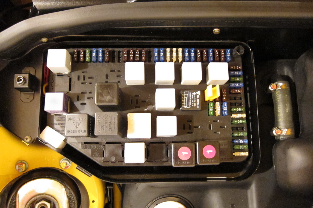 Porsche Cayman Fuse Box Diagram
