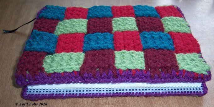 Book Cover Crochet Jacket : April draven crochet book cover
