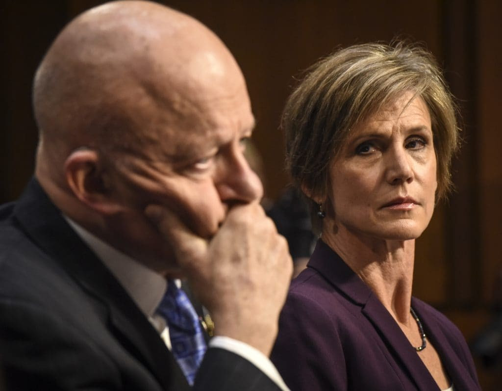 Full transcript: Sally Yates and James Clapper testify on Russian election interference