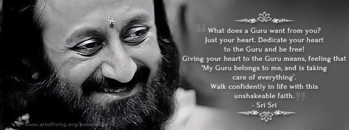 Sri Sri Ravi Shankar Celebrating Life With Silence Only The Heart
