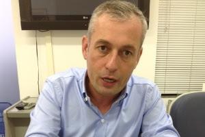 Ex-prefeito de Blumenau (139 km de Florianópolis) João Paulo Kleinubing (PSD), atual presidente do Badesc (Banco de Desenvolvimento de Santa Catarina)