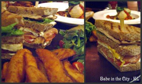 Rye Bread Club Sandwich (RM22)