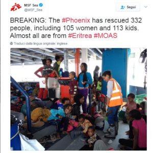 MSF twitter