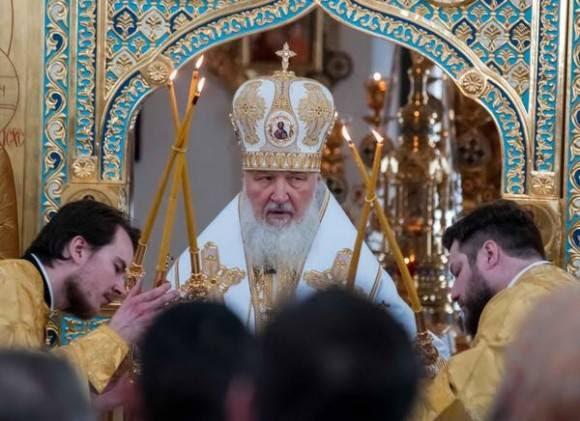 Su Santidad Kirill, Patriarca de Moscú y Toda Rusia, durante el Oficio Divino, que realizara en La Catedral de la Madre de Dios de Kazán, en La Habana, Cuba, el 14 de febrero de 2016.Foto: Abel Padrón Padilla / ACN