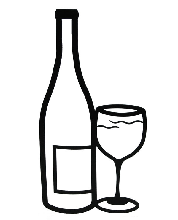 Free Wine Bottle And Glass Download Free Clip Art Free Clip Art On