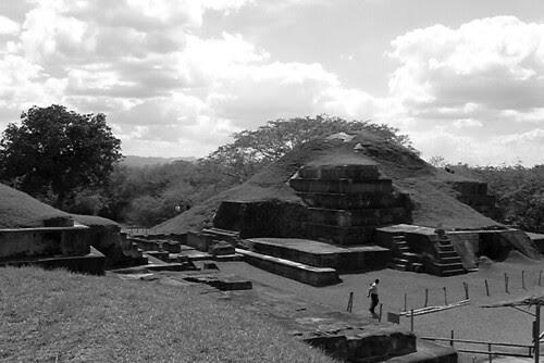 San Andres Mayan ruin