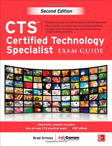 free book   f165 ebook  download ebook cts certified technology specialist exam guide  second