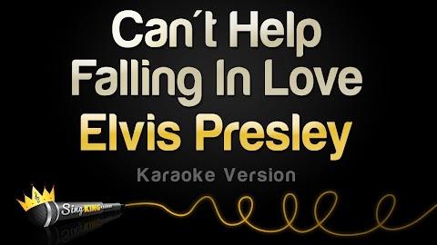 Can T Help Falling In Love With You Lyrics Karaoke