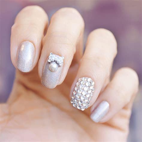 20 Classy Wedding Nail Art Designs   Be Modish