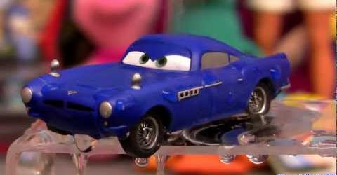 Cars Color Changers Finn McMissile Changing colour Blue to Gray like Magic Disney Pixar coches