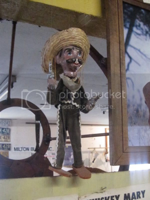 creepy mexican puppet