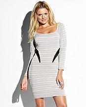 Mesh Panel Dress