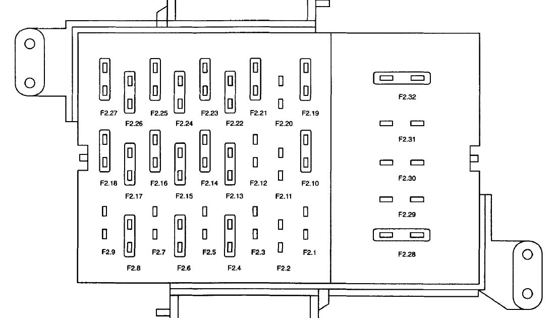 01 Grand Marquis Fuse Box Diagram