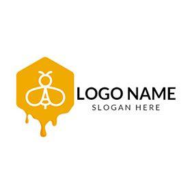 bee logo designs designevo logo maker