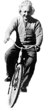 Einstein ciclista