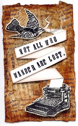 """""""Not All Who Wander Are Lost"""" ICAD : 6-29-13"""