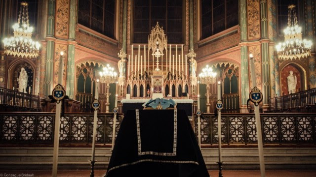 Catafalque for the solemn Requiem for King Louis XVI