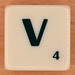 Scrabble Scramble Letter V
