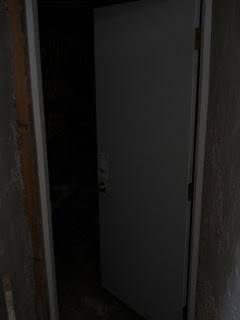 Root Cellar Small Door Entrance