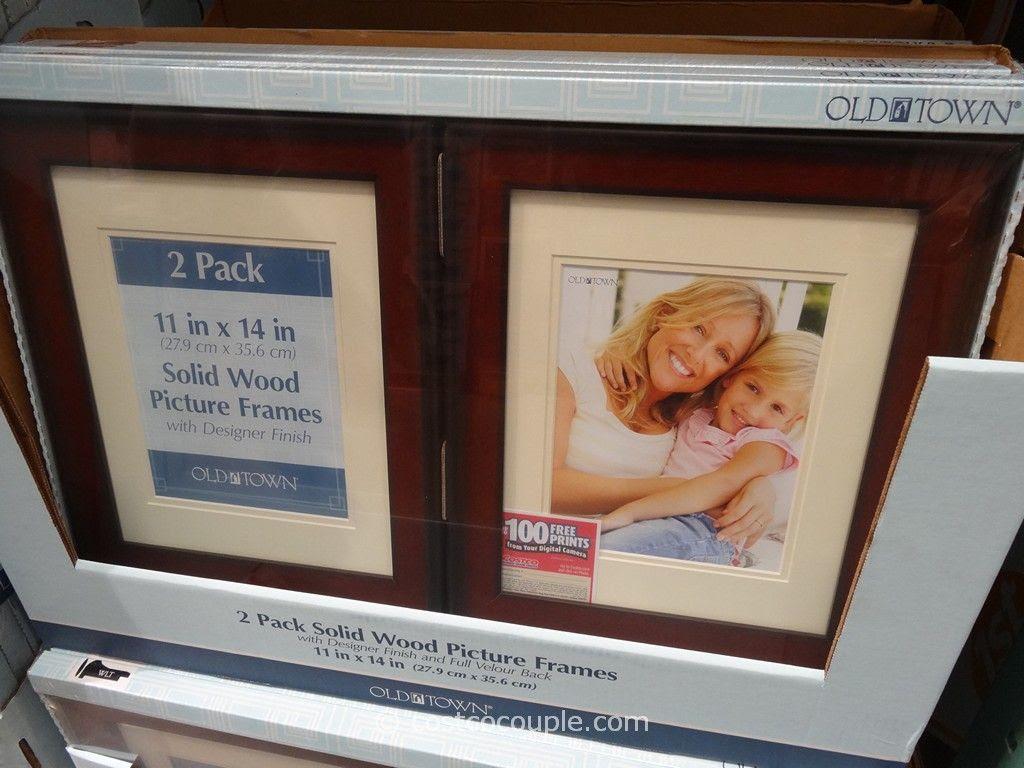 Old Town 11 X 14 Designer Wood Frames