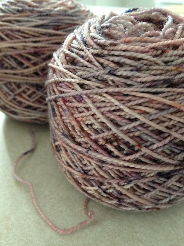 Koigu sock yarn for Zombie Vixen mitts