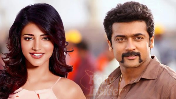 Shruti Haasan joins 'Singam 3'
