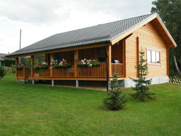 Casas de madera prefabricadas casas finlandesas precios - Casas de madera de lujo en espana ...