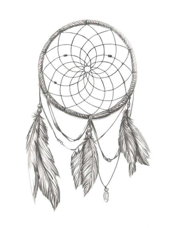 Dream Catcher Tattoo Drawing At Getdrawingscom Free For Personal