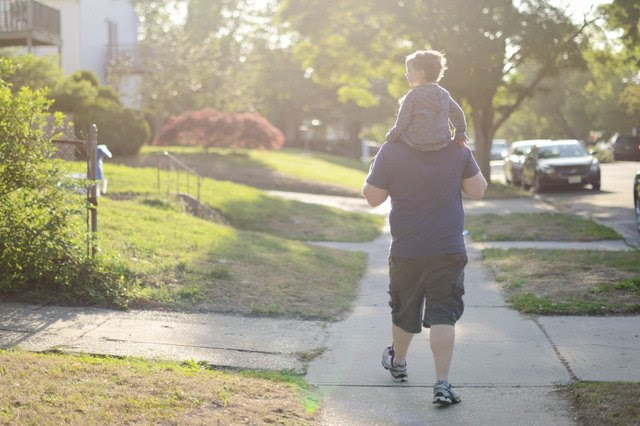 A post-dinner stroll can help lower glucose levels.
