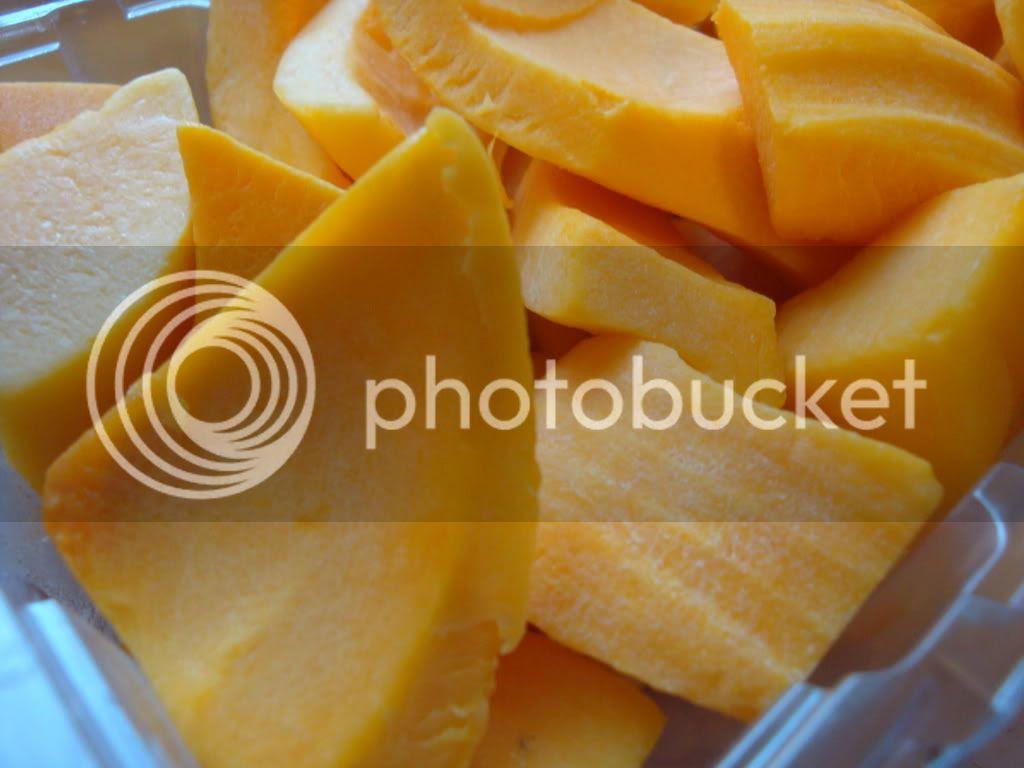 Precut butternut squash