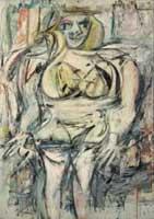 <p>'Woman III', de Willem de Kooning</p>
