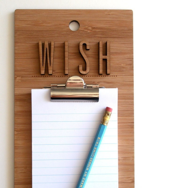 Make My Wishes Come True - Clipboard