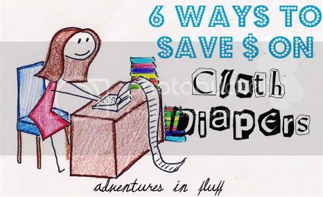 6 Ways To Save $ On Cloth Diapers