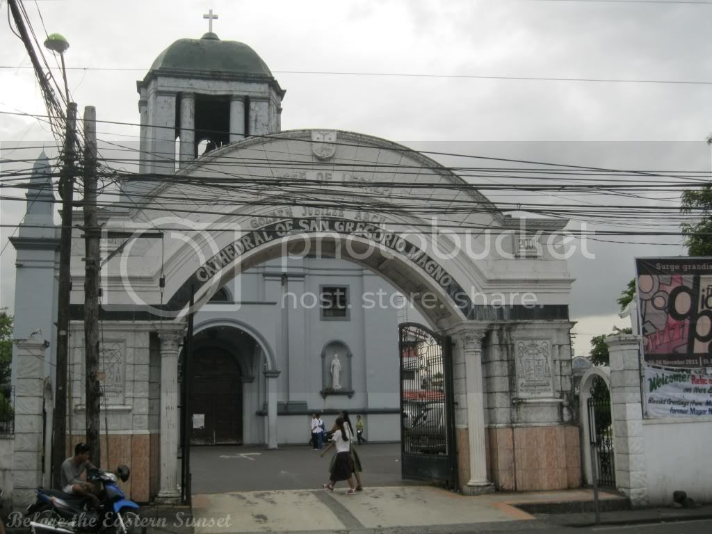 Arch of Albay Cathedral, Legazpi City, Bicolandia