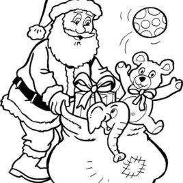 santa claus coloring pages  free download on clipartmag