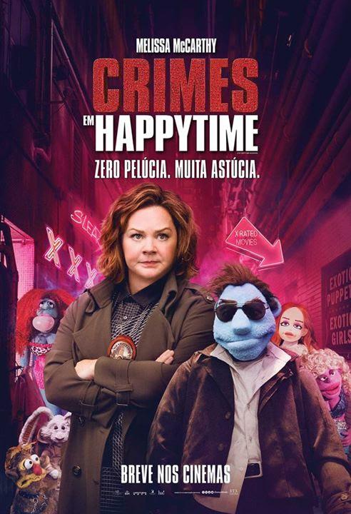 Crimes em Happytime : Poster