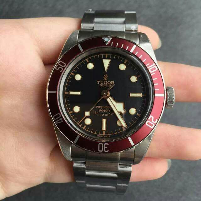 Tudor 79220R Black Dial