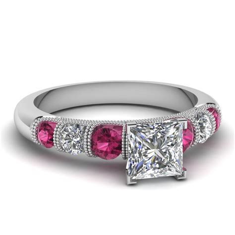Pink Sapphire Engagement Rings   Fascinating Diamonds