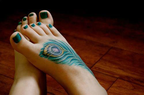 20 Diseños Geniales De Tatuajes Para Tus Pies Tkm México