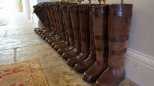 Boots at Congham Hall Hotel Secret Stays