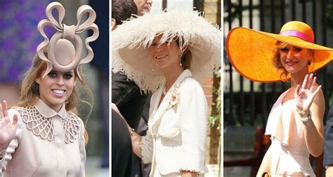The wackiest royal wedding hats of all time   New Idea