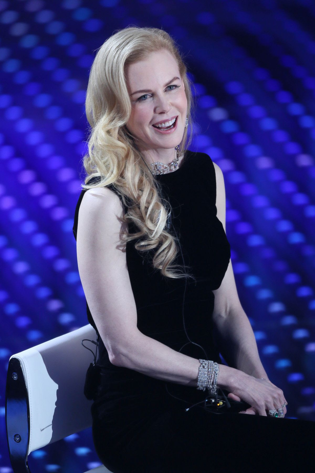NICOLE KIDMAN at 66th Sanremo Music Festival 02/10/2016