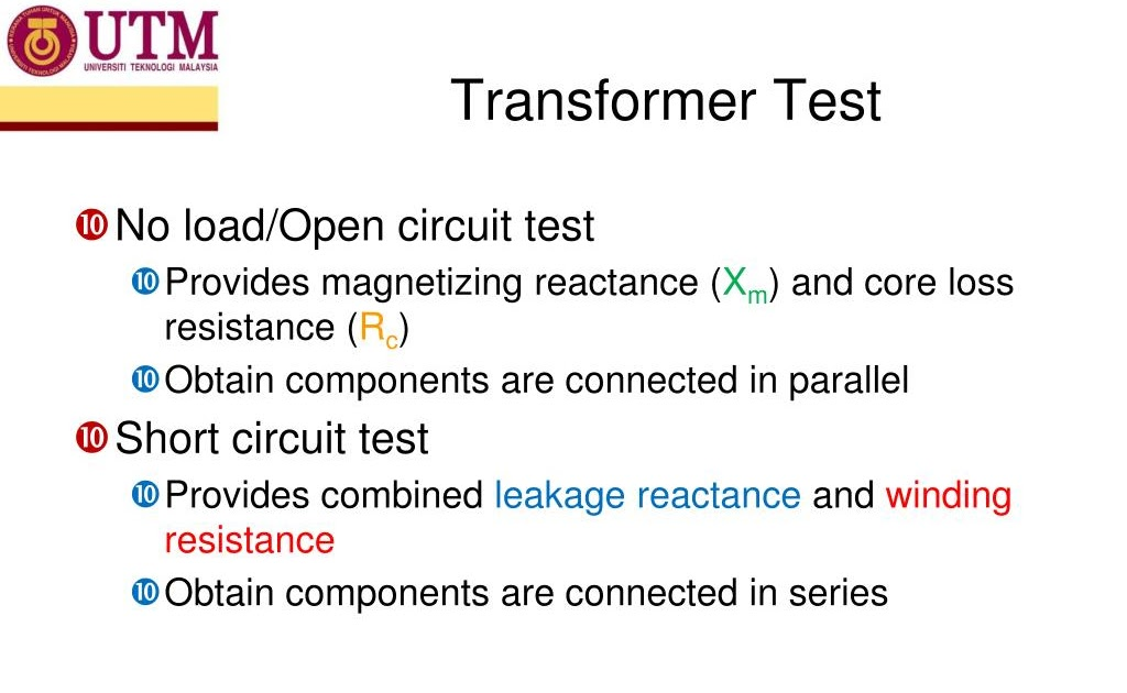 Series Resistance Transformer