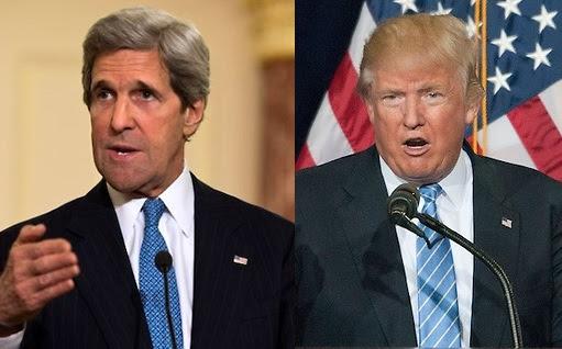 Kerry recomienda a Trump que pida consejo antes hablar con otros líderes