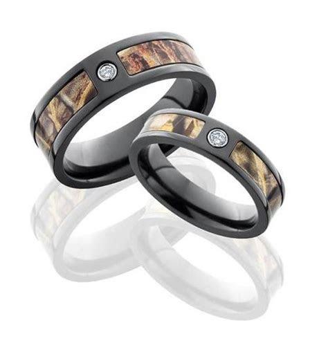 Diamond Camouflage Wedding Rings Ideas   Fashion Female