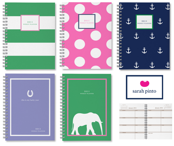 Best and Most Stylish Daily, Weekly & Monthly Planners for 2011 ...