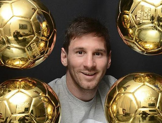 messi bola de ouro (Foto: Reprodução L'Equipe)
