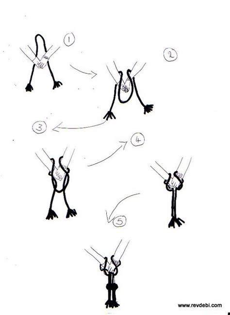 How to tie a handfasting cord   Rev Deborah Ashe