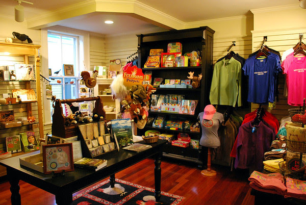 A look inside the gift shop.